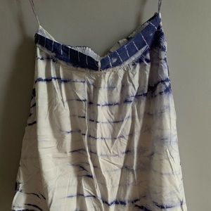 Anthropologie Tie Dye Asymmetrical Skirt